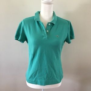 Lacoste Teal Polo Shirt